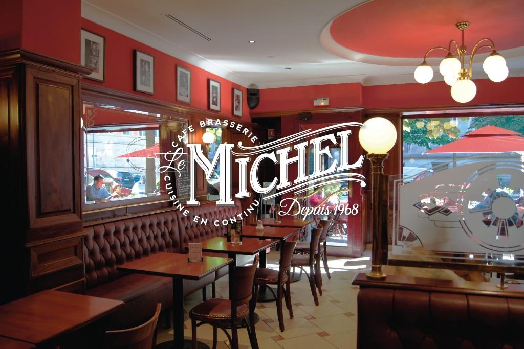 Rebranding a French Brasserie