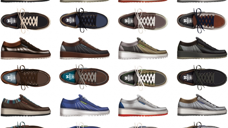 Redesigning a footwear Classic
