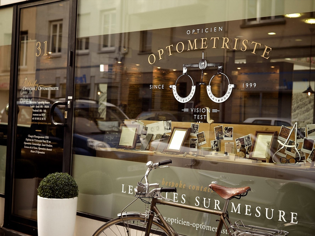 Re-inventing an Optometrist shop thru design
