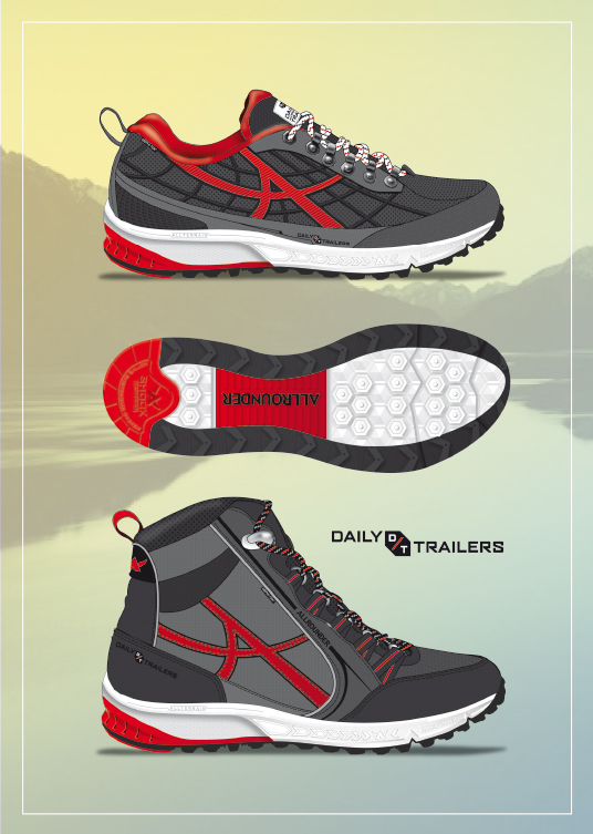 outdoors footwear design allrounder