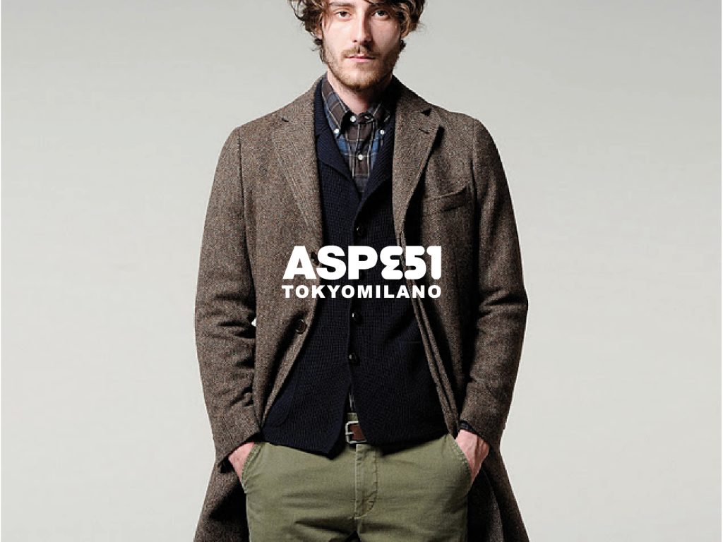 Aspesi : branding project for high-end italian fashion brand