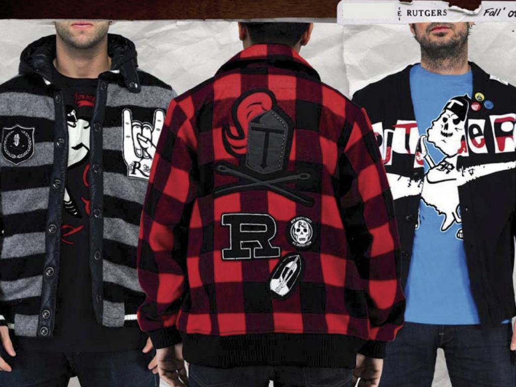Rutgers University apparel design