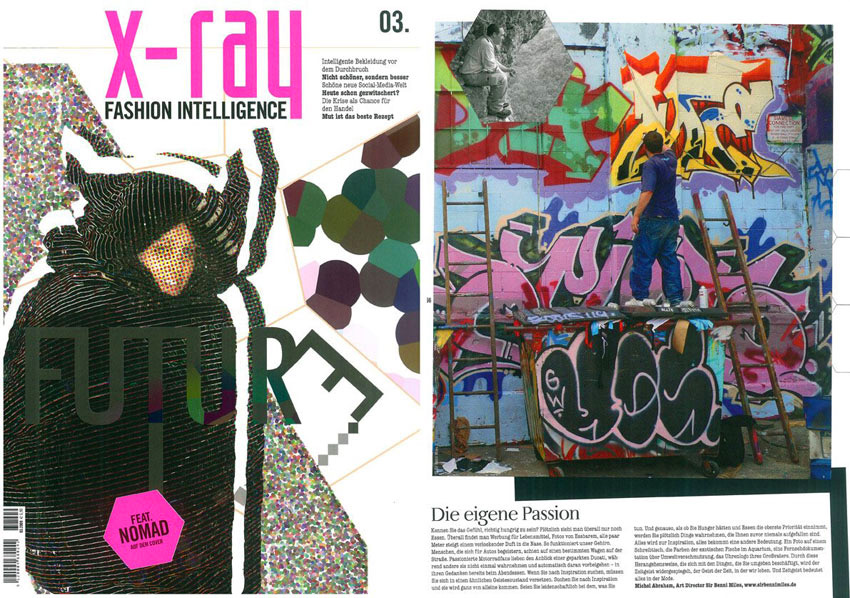 x-ray fashion magazine : What inspires your work as a designer?